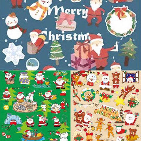Merry Christmas Washi Tape - Xmas Bundle (3 Stickers)