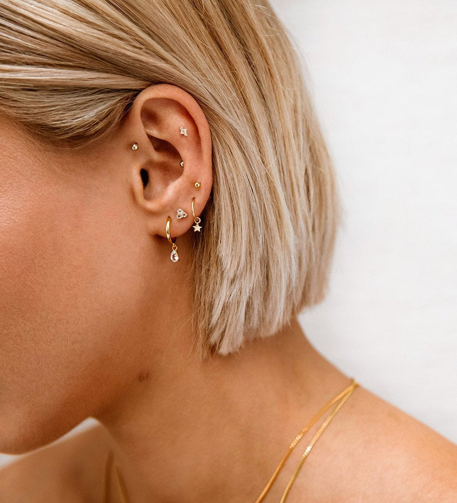 d23345c56 TEARDROP HOOPS (18K-GOLD-PLATED) – Kirstin Ash (United States)