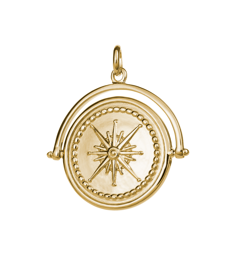 TRUE NORTH SPINNER (18K-GOLD-VERMEIL) - IMAGE 01