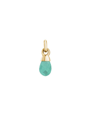 AMAZONITE GEMSTONE (18K-GOLD-VERMEIL)
