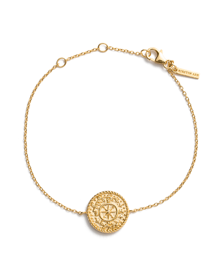 TREASURE COIN BRACELET (18K-GOLD-PLATED)
