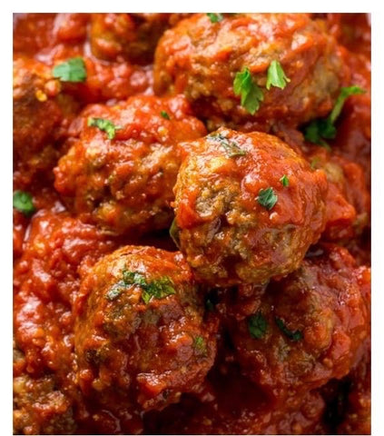 Superbowl - Italian meatballs in marinara - Superbowl Sunday PICK UP ONLY