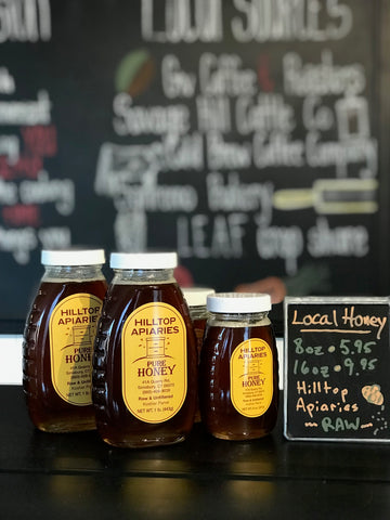 Hilltop Apiary Honey - pure and raw