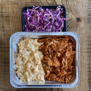 Sunday Meal FAMILY STYLE (Serves 4-6) - BBQ pulled chicken meal