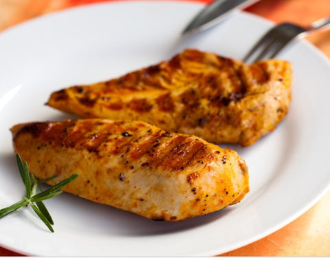 Bulk Organic Chicken Breast slices (1 pound)