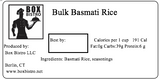 Bulk Basmati Rice (3cups)