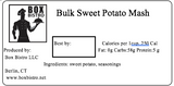 Bulk Sweet Potato Mash (3 cups)