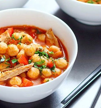 Thursday Meal -  Mediterranean chicken and chickpea soup (NGI/DF)