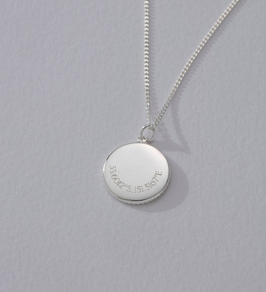 TRAVELLER COIN (STERLING SILVER)
