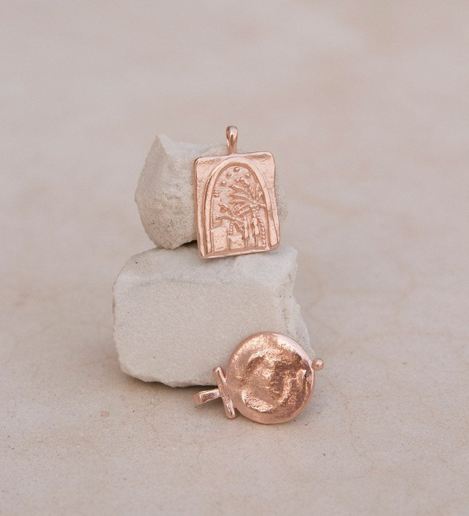 UNDER THE NIGHT SKY COIN (18K-ROSE GOLD-VERMEIL)