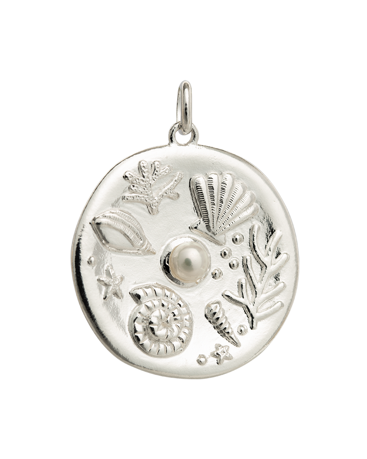 BY THE SEA COIN (STERLING SILVER)