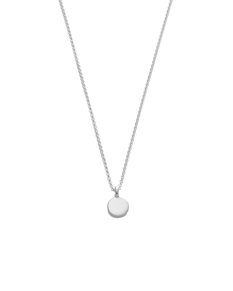 CLASSIC CIRCLE NECKLACE (STERLING SILVER)
