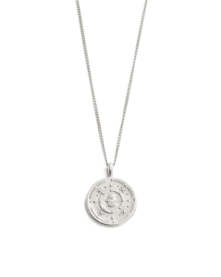 HAMSA-PROTECTION-COIN-NECKLACE-STERLING-SILVER-01