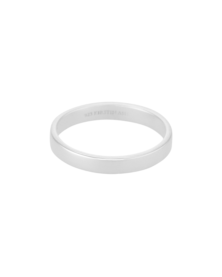 TIMELESS BAND RING (STERLING SILVER)