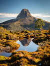 Barn Bluff Reflection - The Overland Track
