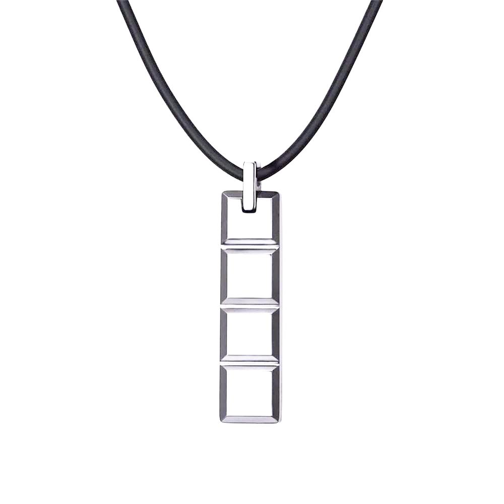 chain fashion tungsten pendant men rope choker tone silver necklaces categories mens black itm mprainbow leather necklace steel punk
