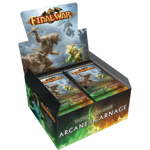 Final War: Arcane & Carnage Booster Box (24x Booster Packs)