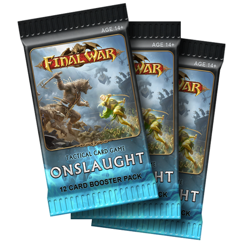 Final War: Onslaught 3x Booster Packs