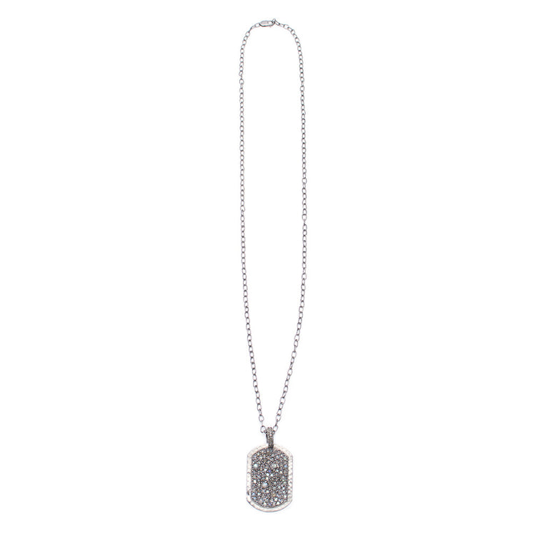 Sanlo Private Collection | S/S Chain Labradorite Pendant