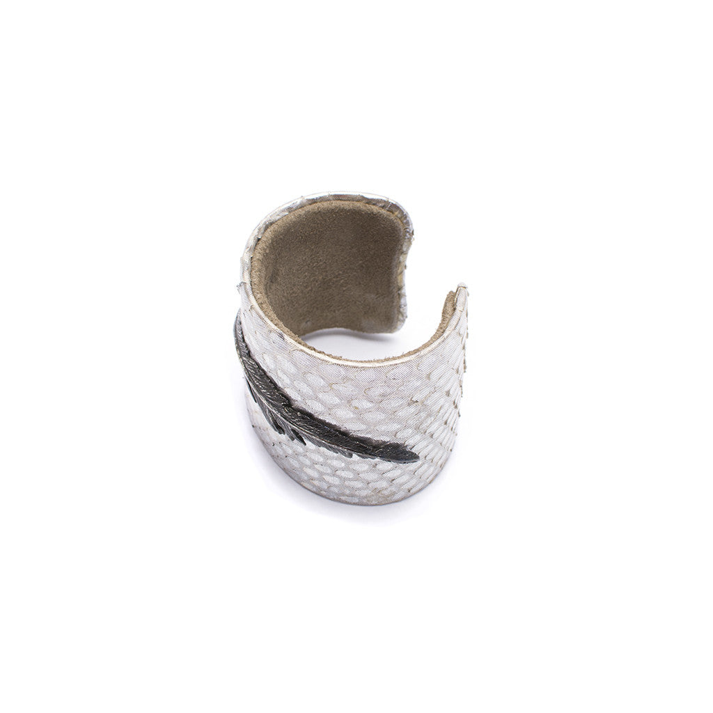Sanlo Private Collection | Silver Python Cuff