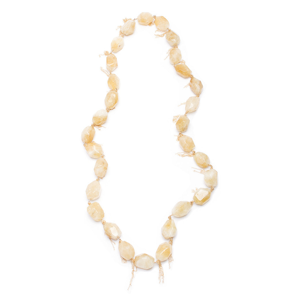 Santos Collection | Citrine Necklace
