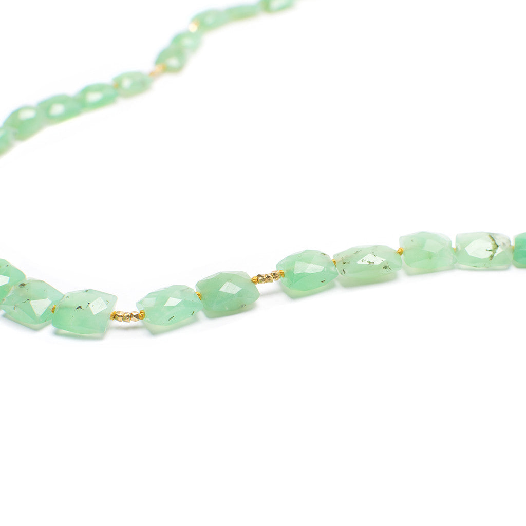Santos Collection | Chrysoprase Necklace