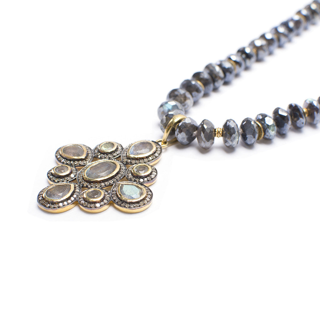 Santos Collecton | Labradorite Pendant Necklace