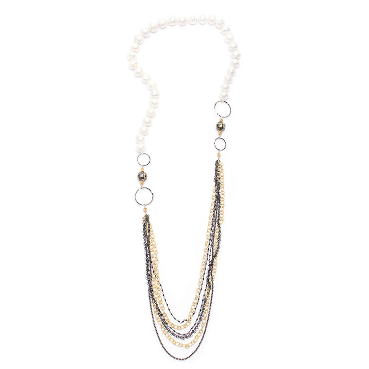 Santos Collection | Pearl Necklace