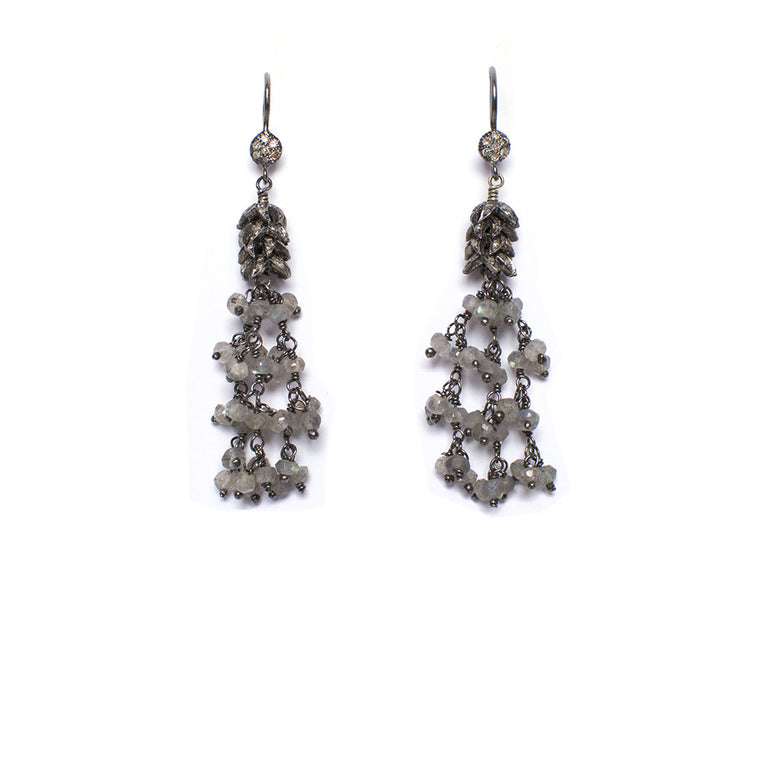 Santos Collection | Labradorite Earings