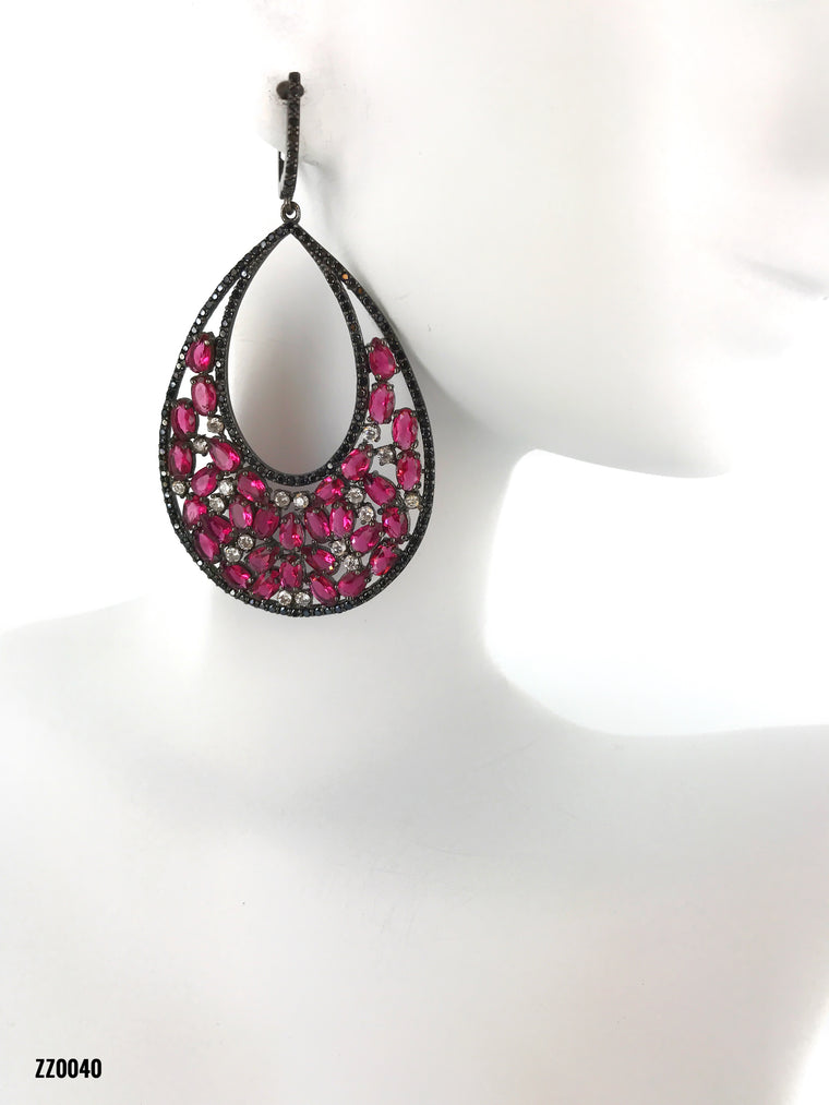 Pink Swarovski Diamonds