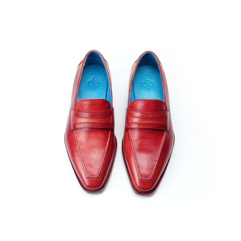 Alex Loafer - Bright Red