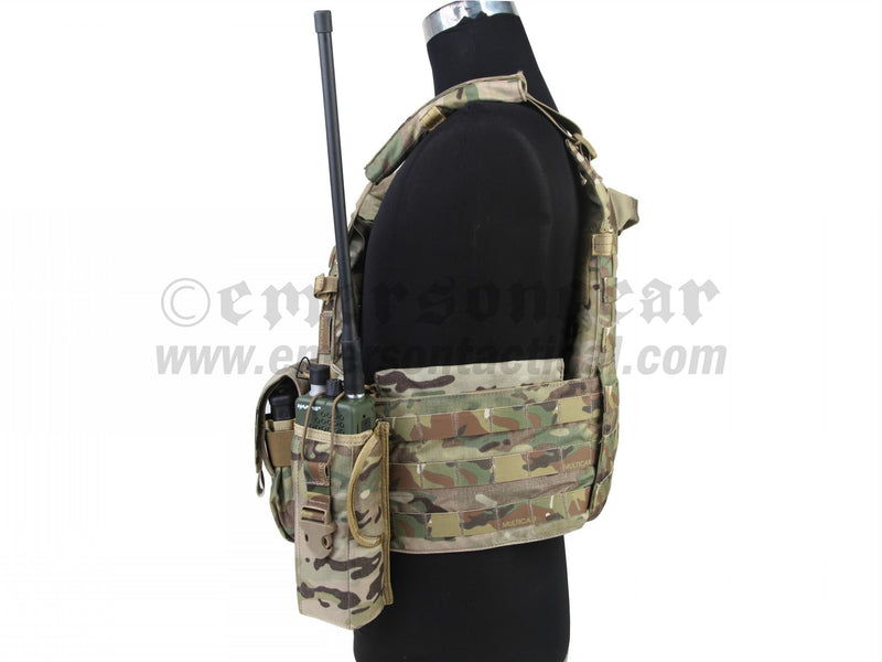 LBT6094 Style Plate Carrier with 3 Pouches