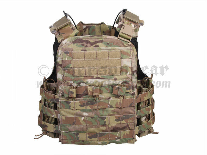 Cherry Plate Carrier Tactical VEST-Assault Series
