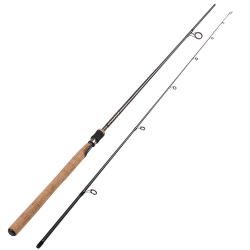 Fiblink Sea Bass Fishing Rod 2-Piece Medium Heavy Inshore Spinning Rod Saltwater Portable Graphite Spinning Fishing Rod Sea Bass Spinning Rod