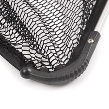 "Fiblink Folding Telescoping Aluminum Fishing Landing Net with 2 Section Extending Pole Handle (Extend Length: 35""-48"")"