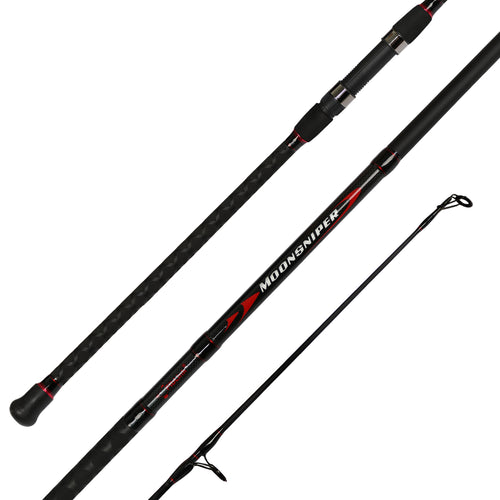 Fiblink Moonsniper Surf Spinning Fishing Rod 2-Piece Graphite Travel Fishing Rod