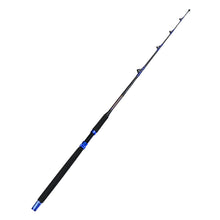 Fiblink 1-Piece Saltwater Offshore Trolling Rod Conventional Boat Rod Roller Fishing Pole(6-Feet, 30-50lb/50-80lb/80-120lb)