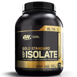 Gold Standard 100% Whey Isolate 5lb