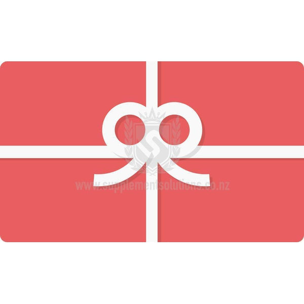 Gift Card-Gift Card-Supplement Solutions