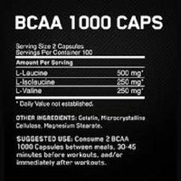 Optimum Nutrition BCAA 200caps-Amino Acids-Supplement Solutions