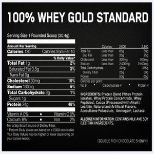 Optimum Nutrition Gold Standard Whey 10lb-Whey Protein-Supplement Solutions