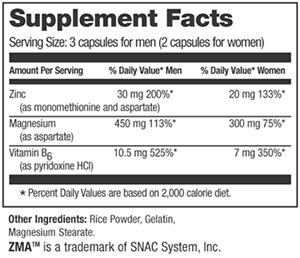 Optimum Nutrition ZMA 90 caps-General Health-Supplement Solutions