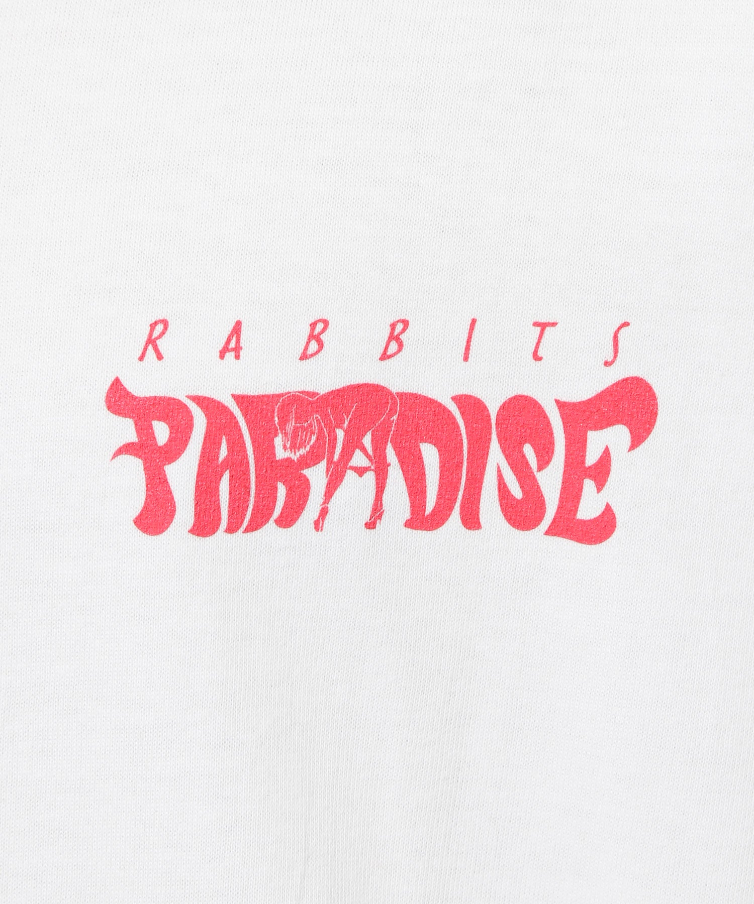 Multi Rabbits Paradise Tee - White