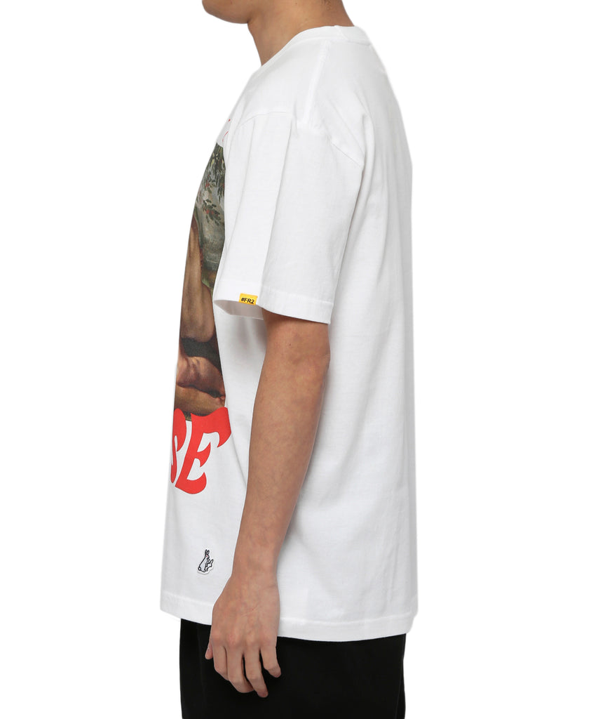 Paradise Apple Tee - White
