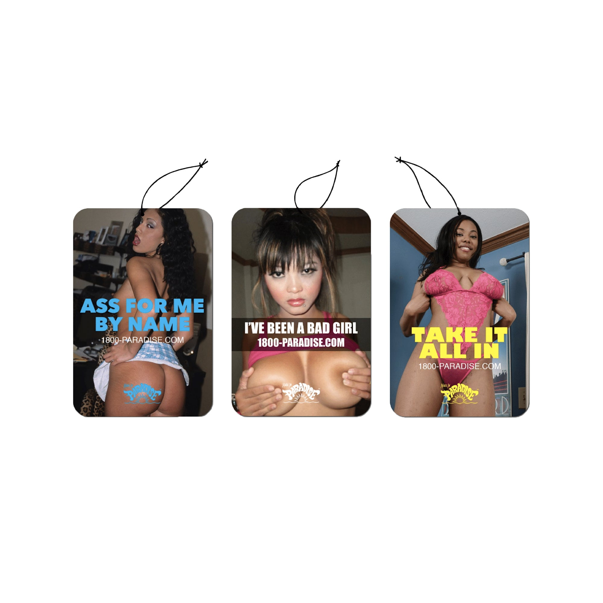 ESCORT CARD AIR FRESHENERS VOL. 2 (PACK OF 3)