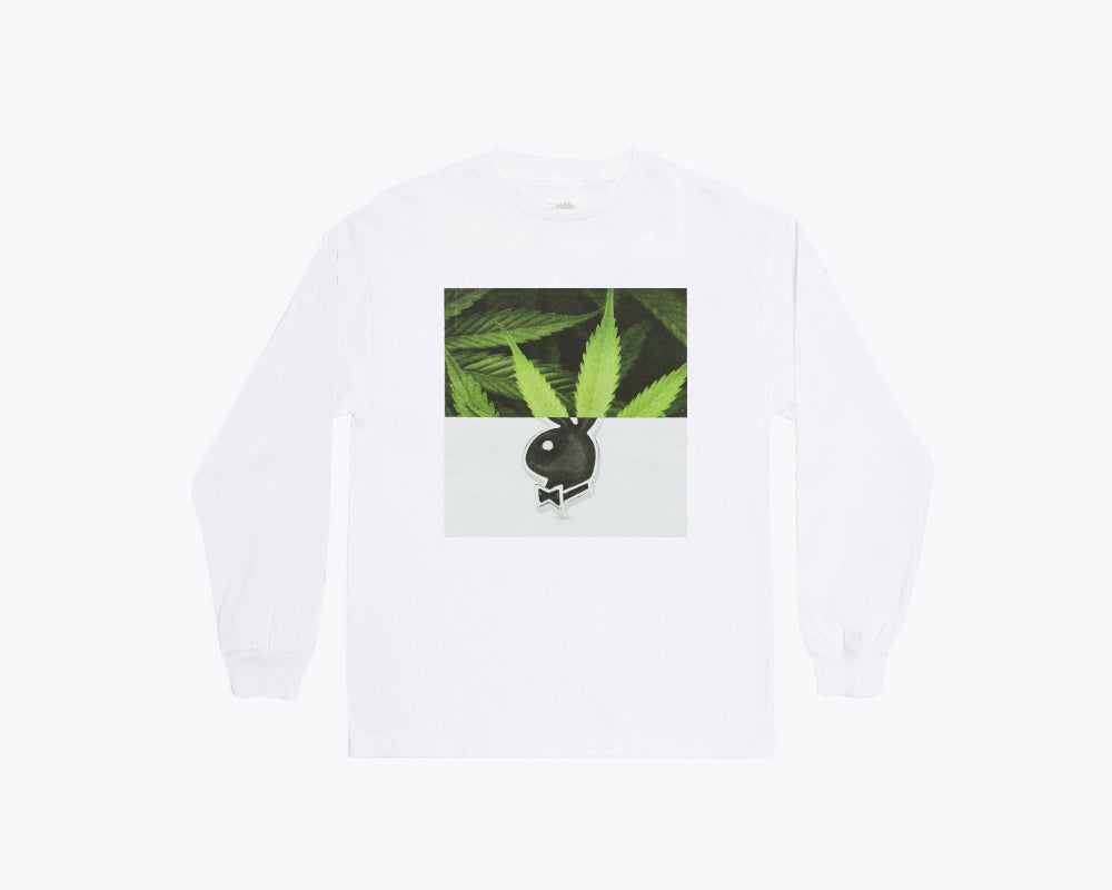 PLAY GAN BY EMIR SHIRO LONGSLEEVE T-SHIRT – WHITE