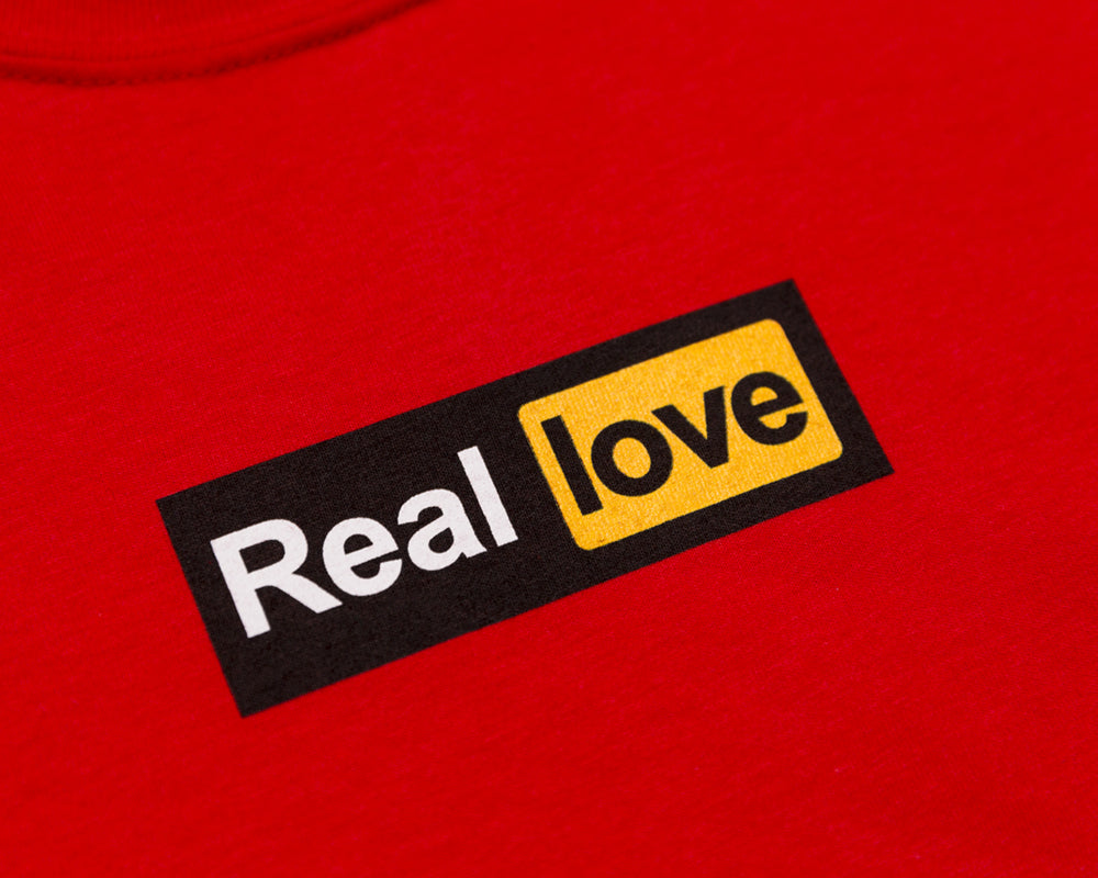 REAL LOVE TEE - RED