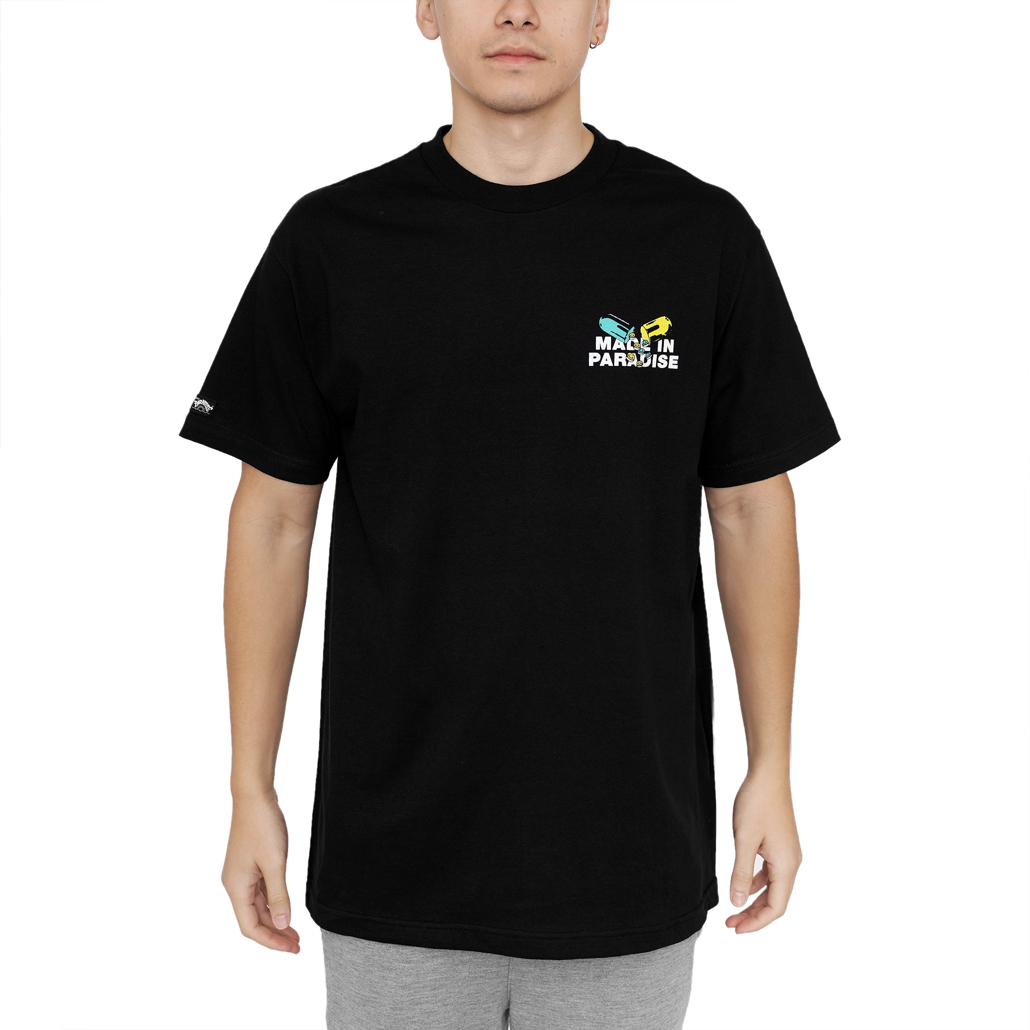 PILL COSBY TEE - BLACK