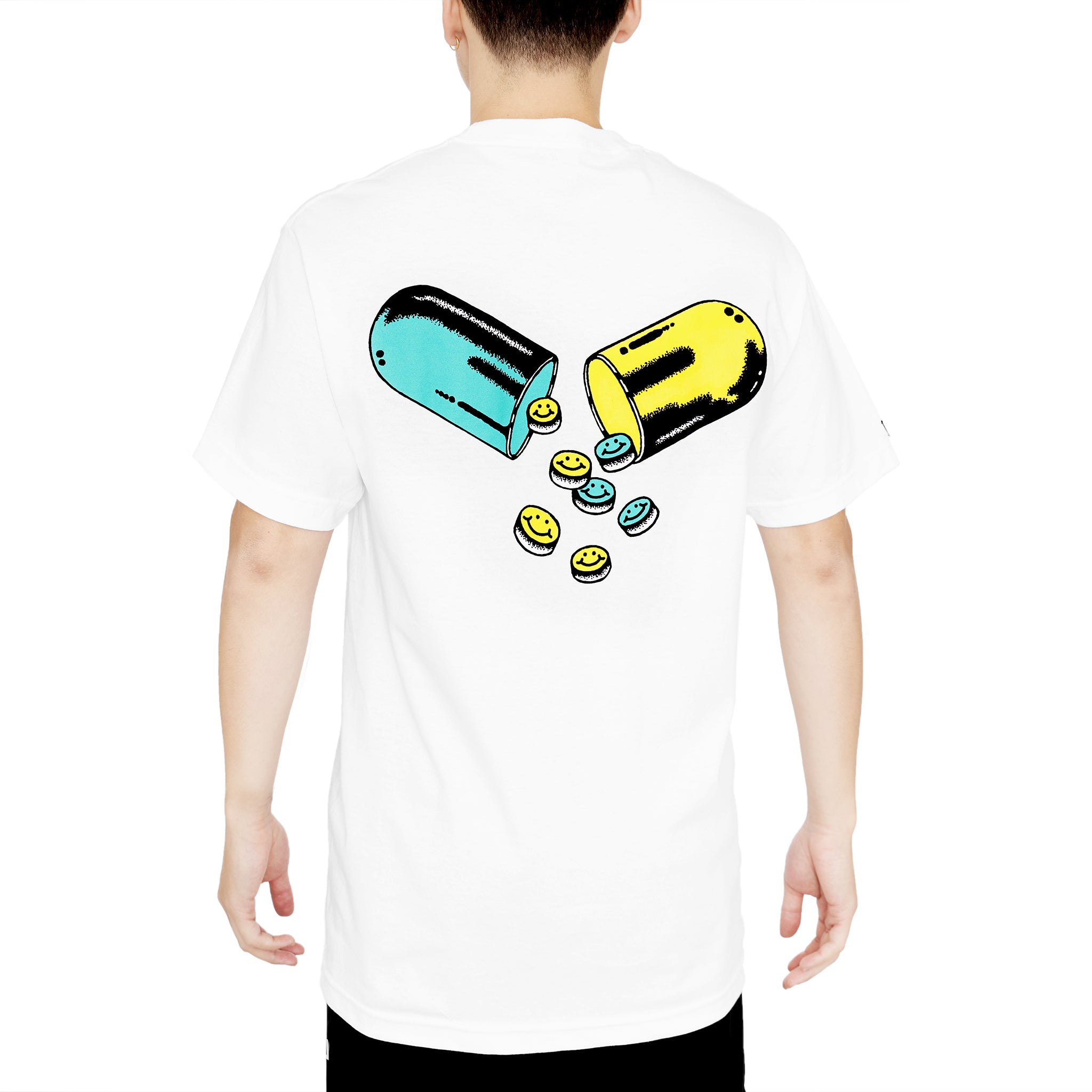 PILL COSBY TEE - WHITE
