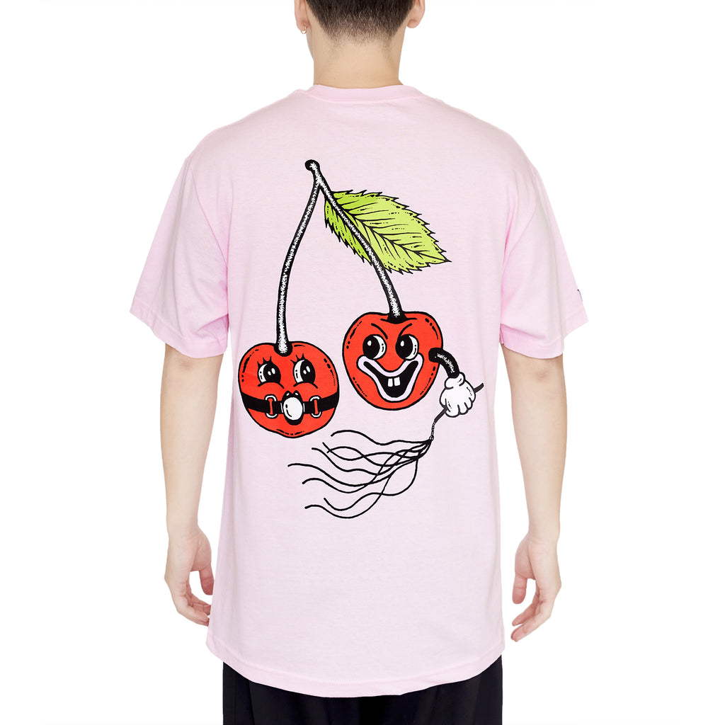 POP THE CHERRY TEE - PINK